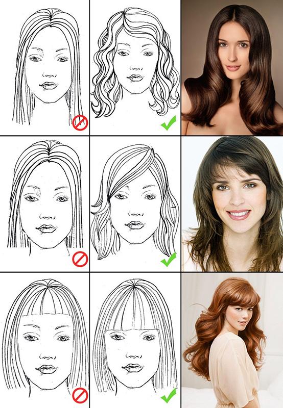 Yüz Şekillerine Göre Saç Kesim Modelleri-2