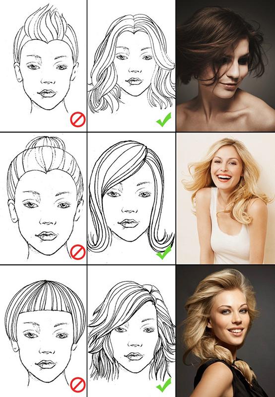 Yüz Şekillerine Göre Saç Kesim Modelleri-3