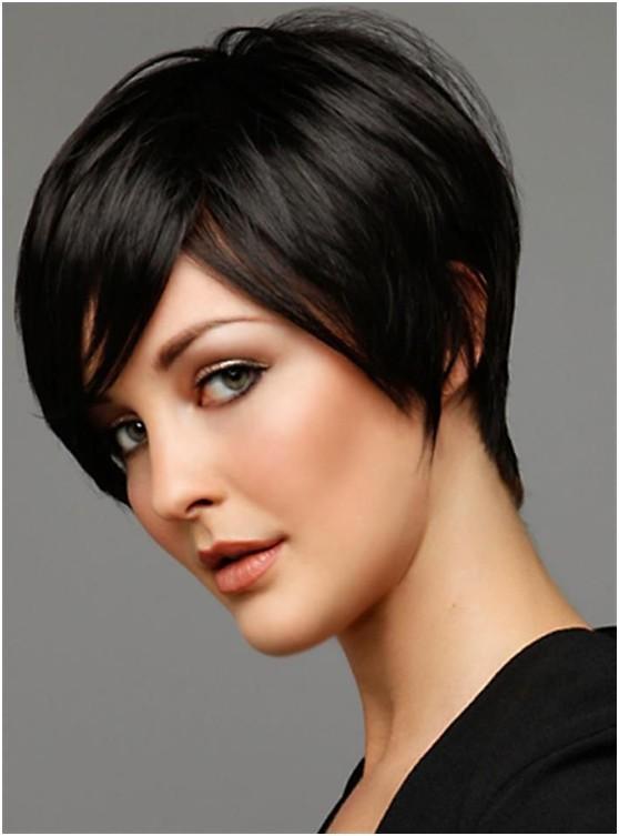 Siyah kısa saç tasarımı