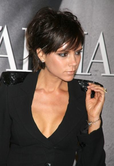 Victoria Beckham kısa saç modeli
