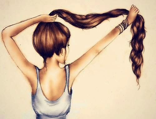 hızla uzayan saçlar