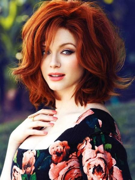 Kısa Kızıl Saç Renkleri