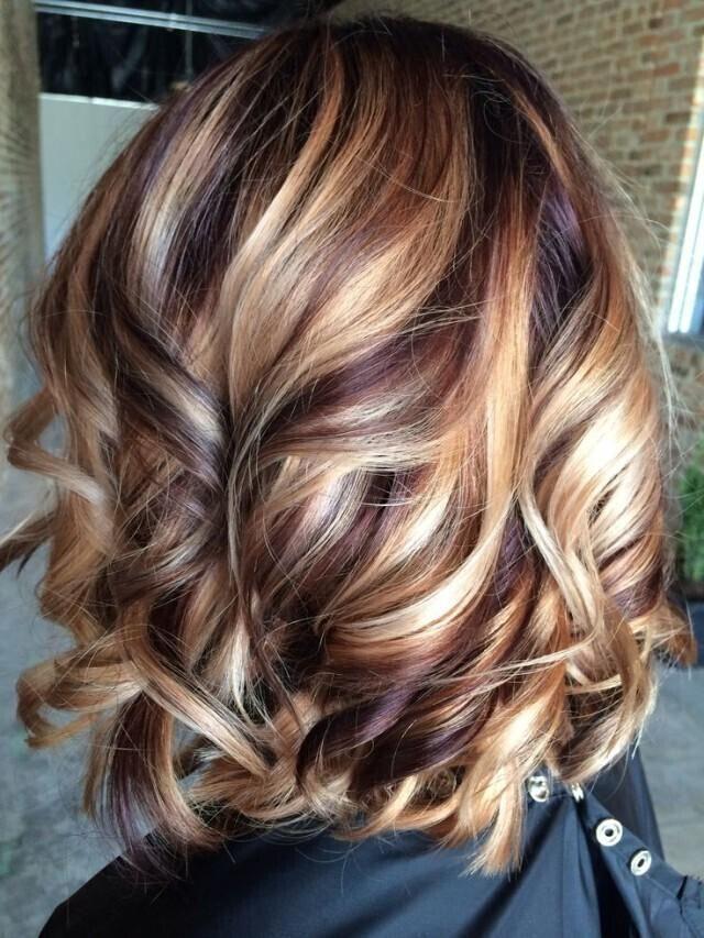 Kumral saç renkleri-