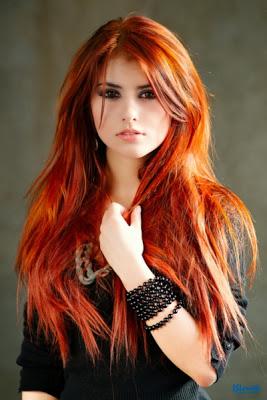 Bakır Saç Renkleri Kadincasayfacom