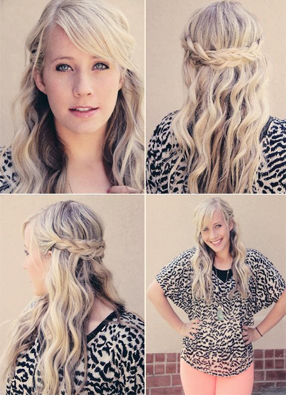 basit-örgü saç modelleri