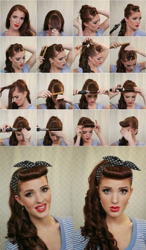 Как мастера делают причёски