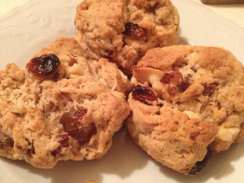 cevizli-üzümlü-kurabiye