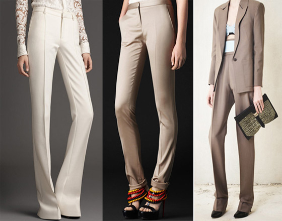 Сшить узкие женские брюки