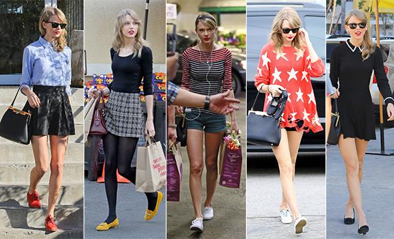 taylor swift sokak stili