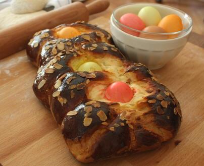paskalya çöreği-tarif -resmi