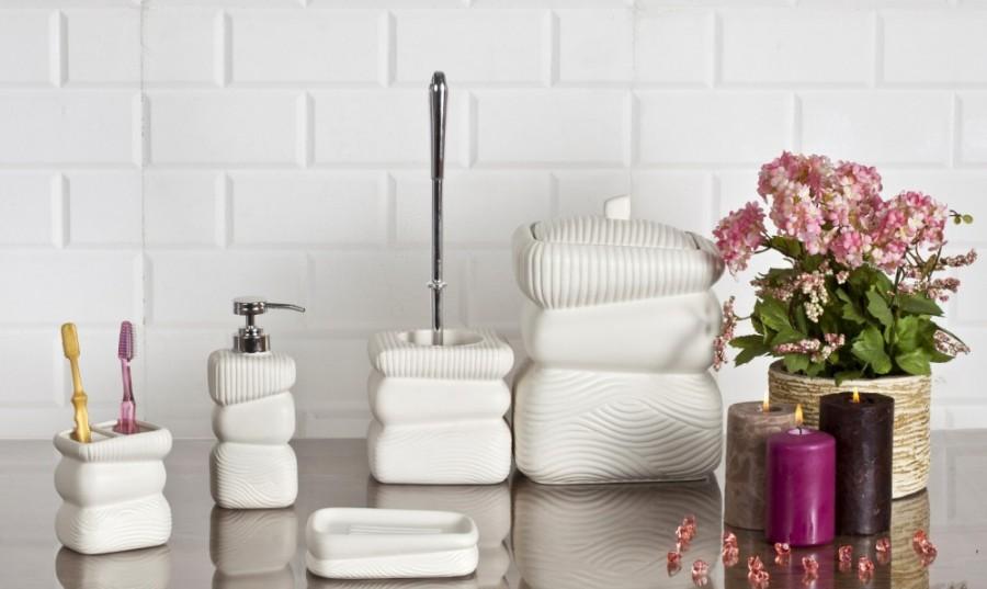 Dekoratif Banyo Setleri - kadincasayfa.com