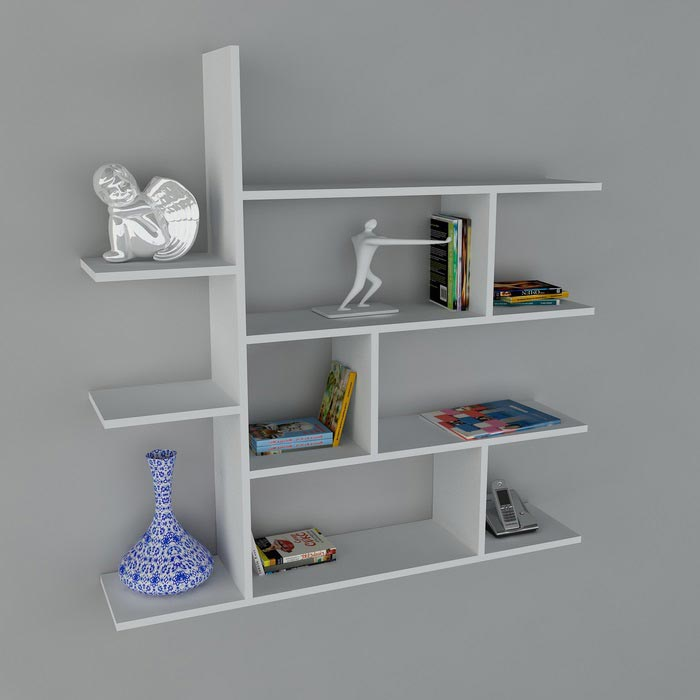 duvara monte dekoratif raf modelleri. Black Bedroom Furniture Sets. Home Design Ideas