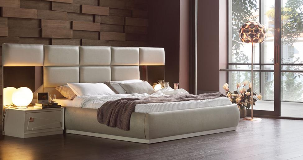 Geniş ve modern tasarımlı yatak başlıkları ile ilgili görsel sonucu
