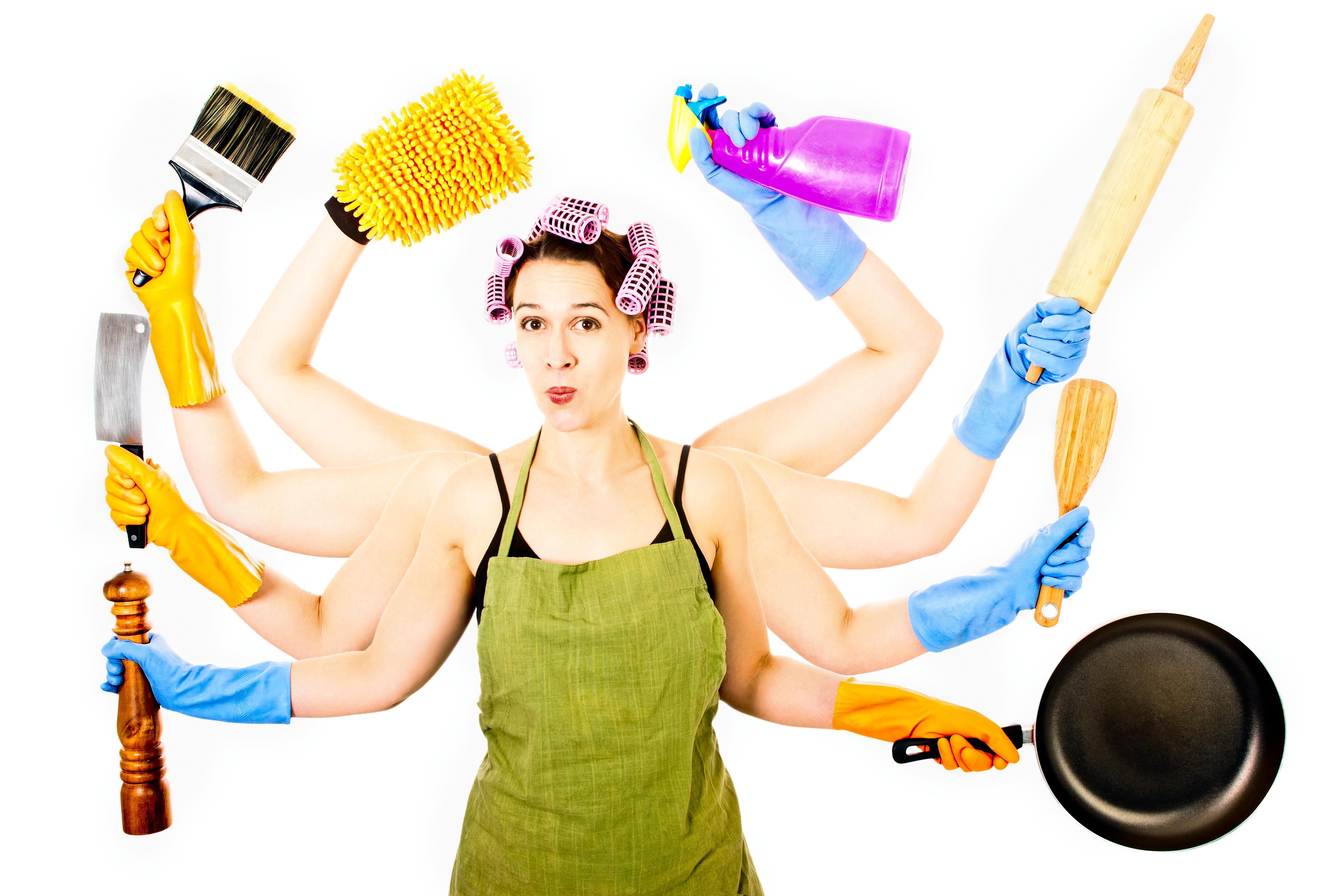 Уставшая домохозяйка картинки 14 фотография