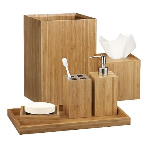 Bambu banyo aksesuar modelleri