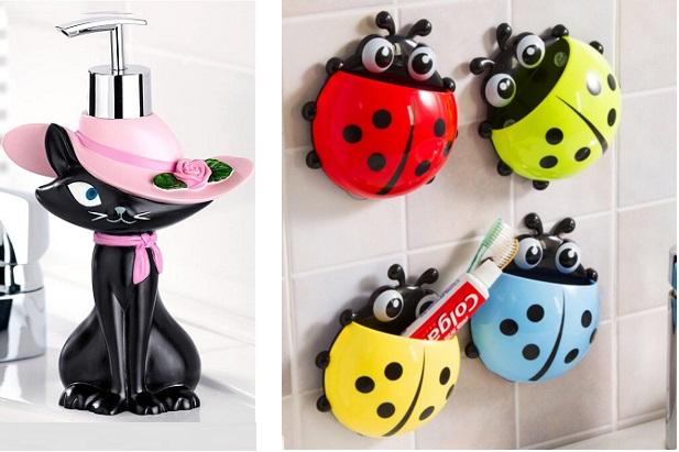 Modern Ve Şık Banyo Aksesuarları