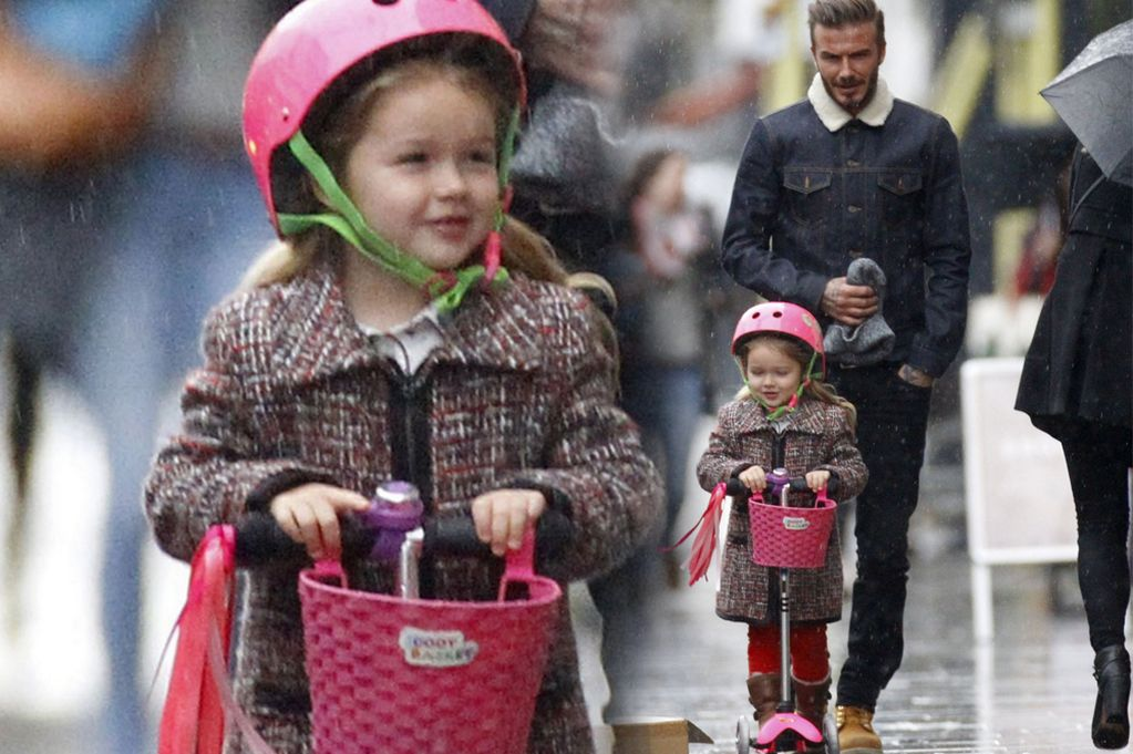 Harper Seven Beckham, annesi gibi tam bir moda ikonu!
