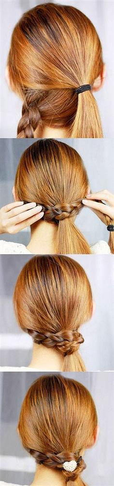 Kolay saç yapımı