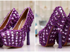 Yeni Trend Renkli Gelin Ayakkabıları