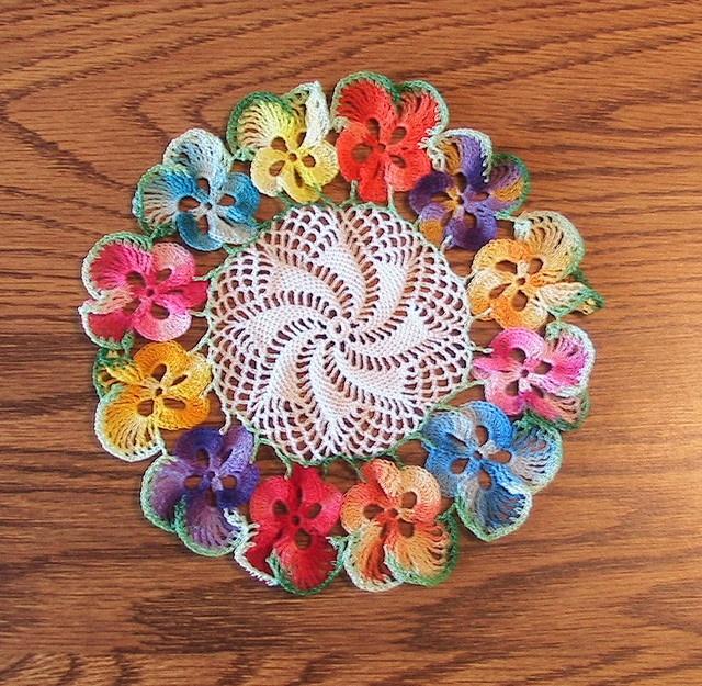 35 Crochet Lace Tablecloth Patterns The Funky Stitch