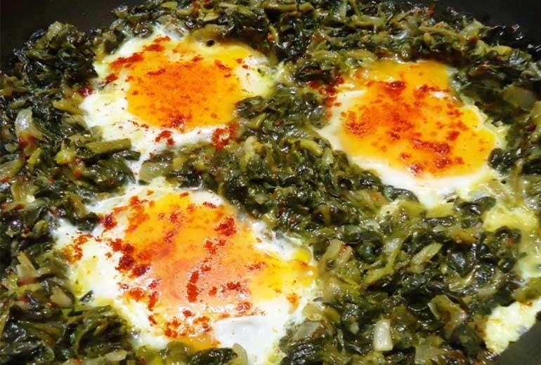 Yumurtalı Semizotu tarifi-resmi