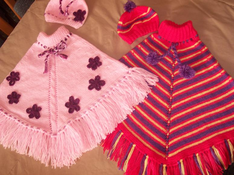 Bebek Ve Çocuk Panço Modelleri-19