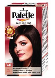 Palette saç boyası renk kataloğu