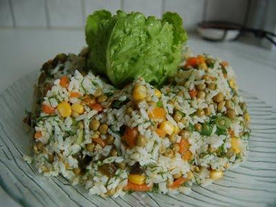 pirinç salatası tarifi resmi