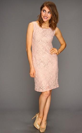 29d003d1836f2 pudra rengi trend dantel elbise modeli · kadincasayfa.com