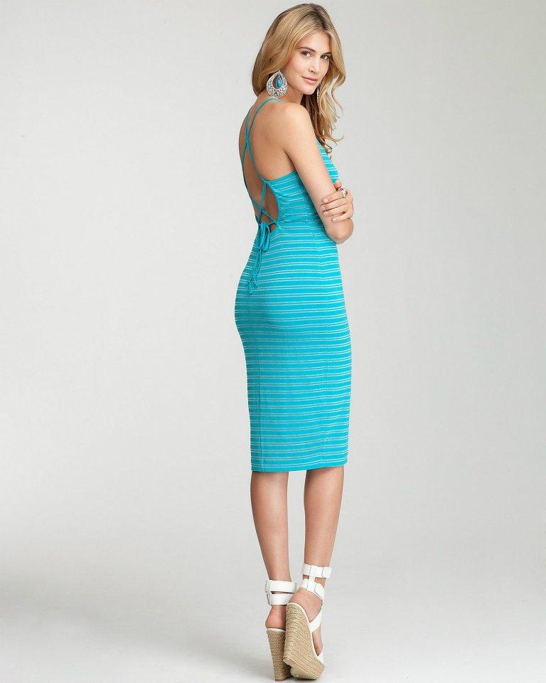 70b072a6f648a Yeni Sezon Diz Altı Elbise Modelleri