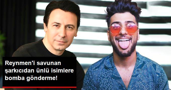 Reynmen'e destek veren şarkıcı Metin'den bomba iddia: Onu eleştirenler de manipülasyon yapıyor
