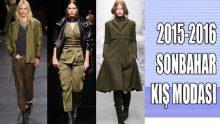 Sonbahar Kış Modası Trendleri