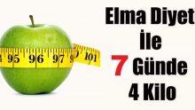 Elma Diyeti İle 1 Haftada 4 Kilo Verin