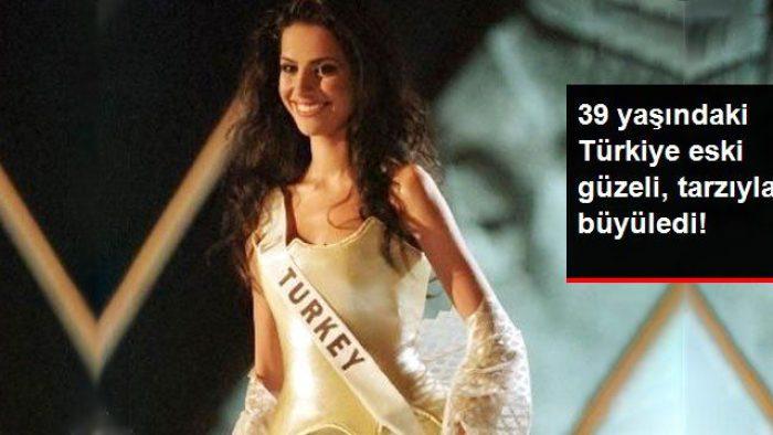 2000 Yılı Türkiye Güzeli Yüksel Ak, 70'ler Tarzıyla Herkesi Büyüledi
