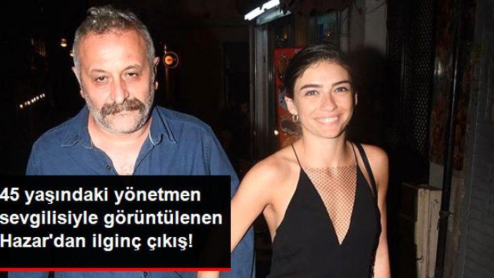 Ünlü Yönetmen Onur Ünlü ve 19 Yaş Küçük Sevgilisi Hazar Ergüçlü Yine Yakalandı