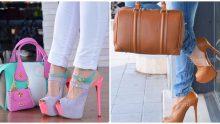 Şık Ayakkabı Çanta Kombinleri