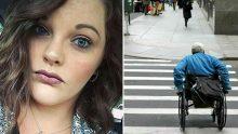 Az Kalsın Tekerlekli Sandalyedeki Adama Çarpıyordu – Aracından İnip Bakın Ne Yaptı