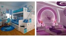 Minimal Tarz Çocuk Odası Tasarımları