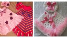 Bebek Ve Çocuk Panço Modelleri