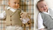 Çok Güzel Bebek Yelek Modelleri