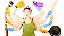 Evde Temizlik Yaparken Bacak Ve Kalça Kaslarımızı Nasıl Çalıştırırız?