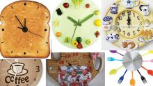 Mutfak Dekorasyonu  İçin Dekoratif  Duvar Saati Önerilerim