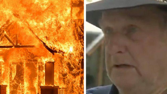Eşi Ve Torunlarının Çocukları Yangının Ortasında Kaldı – Son Saniyelerde Telefonla Konuşarak Karşılıklı Ağladılar