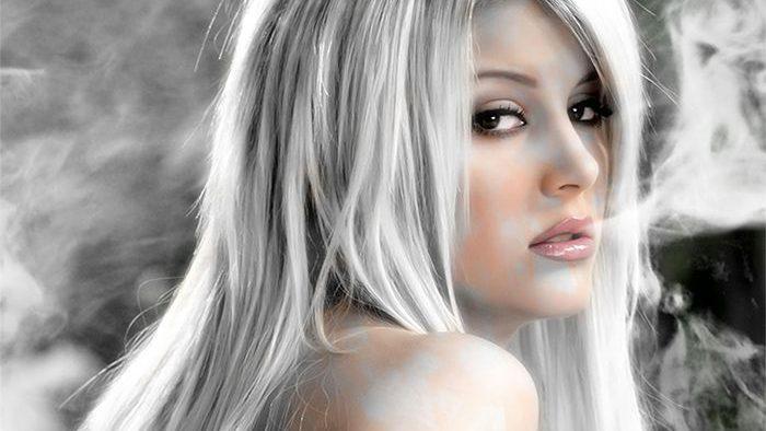 Saç Gümüş Rengine Nasıl Boyanır?
