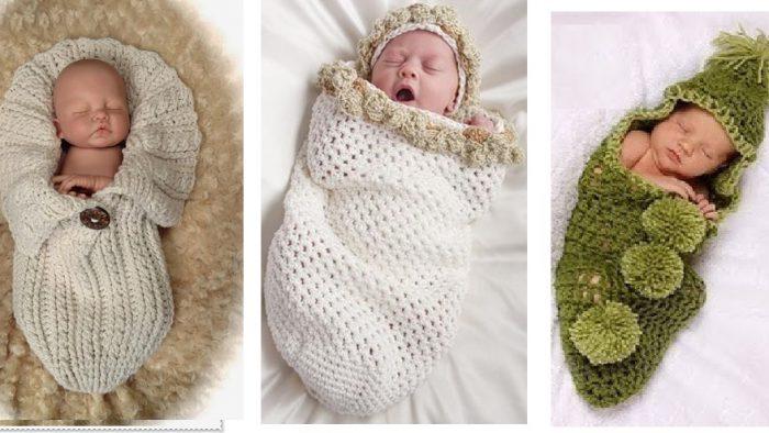 El Örgüsü  Kışlık Bebek Tulumları