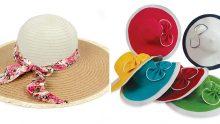 Yazlık Hasır Şapka Ve Çanta Tasarımları