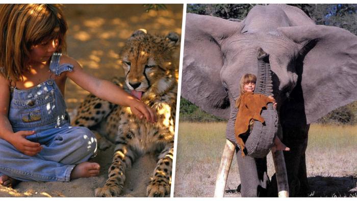 Kızını Aslanla Yalnız Bıraktı – 20 Yıl Sonra Fotoğrafları Dünyayı Şaşırttı