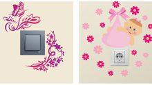 Sıra Dışı Priz Sticker Tasarımları