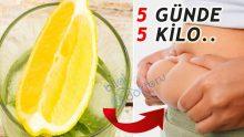 Maydanoz ve Limonlu Yağ Yakıcı Kilo Verme Kürü =>>>