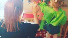 Meryem Uzerli'nin kızıyla paylaştığı fotoğraflar, hayranlarını kızdırdı.
